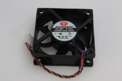 Superred PC Case Cooling Fan CHD6012EB-AH(E) 60 x 25mm 4Pin