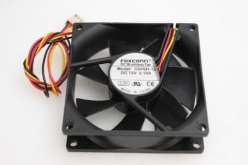 Foxconn PC Case Cooling Fan D80SH-12 80 x 25mm 3Pin
