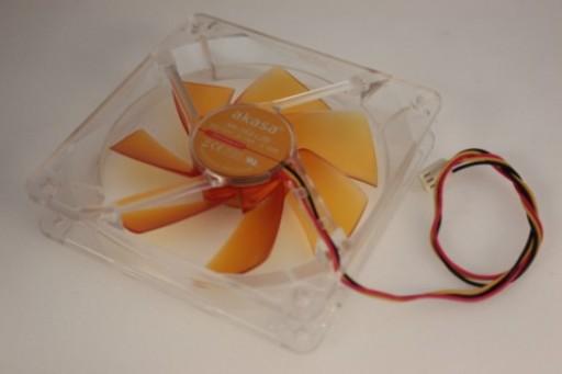 Akasa PC Case Cooling Fan 120 x 25mm AK-183-L2B 3Pin
