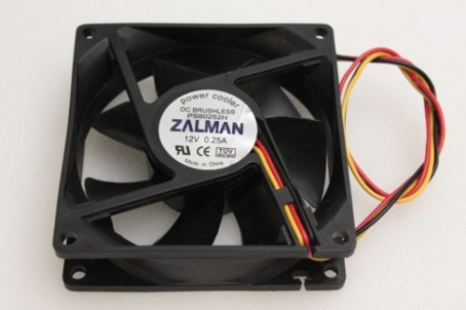Zalman PC Case Cooling Fan PS80252H 80 x 25mm 3Pin