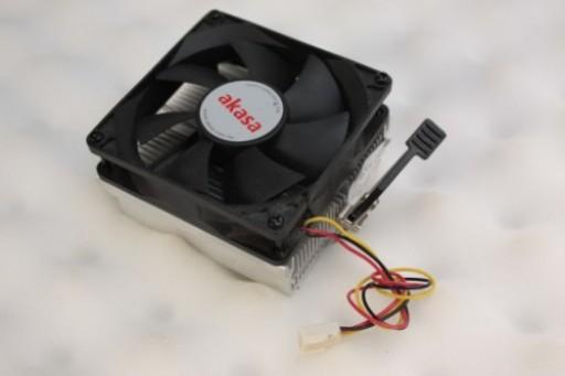 Akasa CPU Cooling Fan Heatsink AK-865 Socket AMD 754 939 940 AM2 AM2+ 3Pin