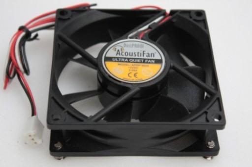 AcoustiFan DustProof PC Case Cooling Fan 3Pin AFDP-8025 80 x 25mm