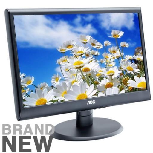 AOC E2250SWDNK 21.5 inch Full HD Widescreen LED Monitor Black