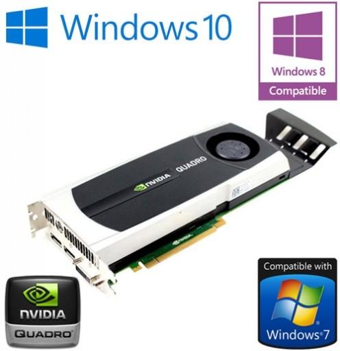 nVidia Quadro 5000 2.5GB GDDR5 PCI-E Dual DisplayPort DVI Graphics Card 0YMYKM