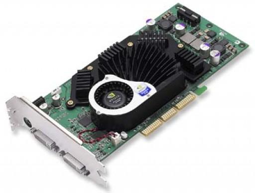 nVidia Quadro FX3000 256MB Dual DVI AGP Graphics Card