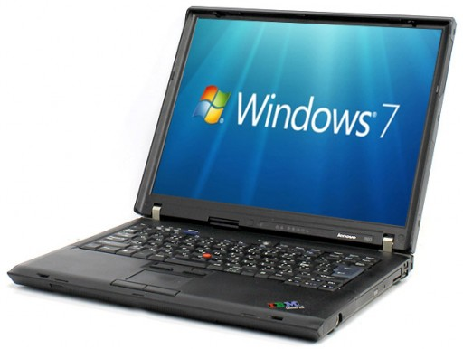 "Lenovo ThinkPad R60 9757 15"" Core Duo T2400 2GB WiFi DVD Windows 7 Laptop"