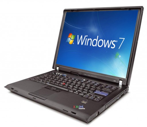 "Lenovo ThinkPad T61 6458 Core 2 Duo T7500 2.20GHz  15.4"" Windows 7 Laptop"