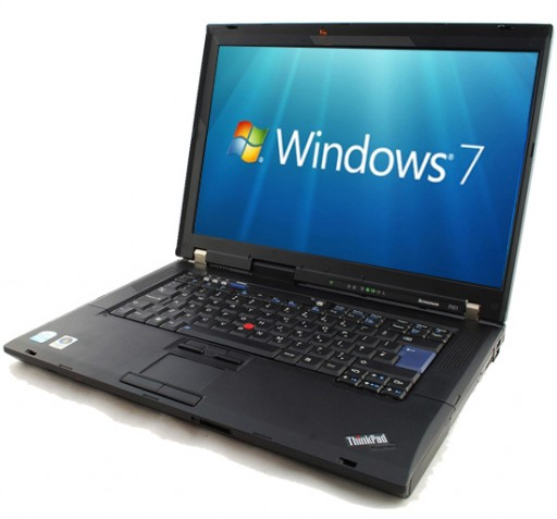 "Lenovo ThinkPad R61 15.4"" Core 2 Duo T7100 2GB WiFi Windows 7 Laptop"