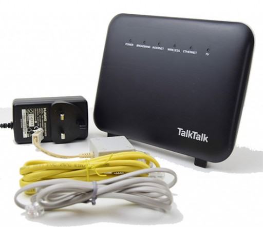 Talk Talk Super Fibre Router Huawei HG635 Dual Band ADSL