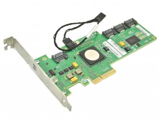 HP LSI Logic SAS 3041E-HP 4 Port PCI-e RAID Controller Card Cable 510359-001