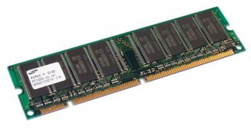 256MB PC133U SDRAM DIMM 168Pin CL3 Samsung Memory M366S3253CTS-C7A