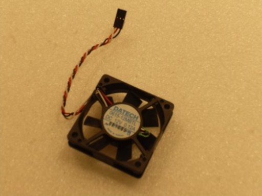 Datech 0615-12MBTL DC12V 0.12A Case Fan 3Pin 60mm x 15mm