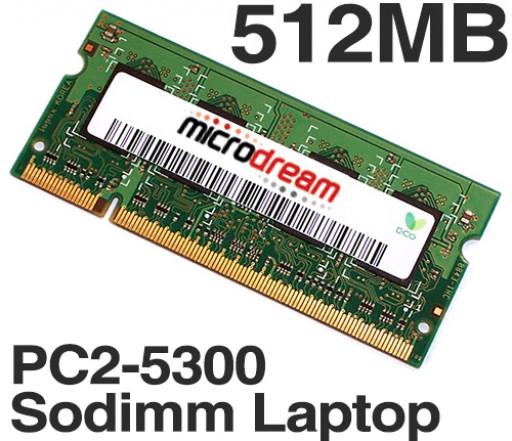 512MB PC2-5300 667MHz 200Pin DDR2 Sodimm Laptop Memory RAM