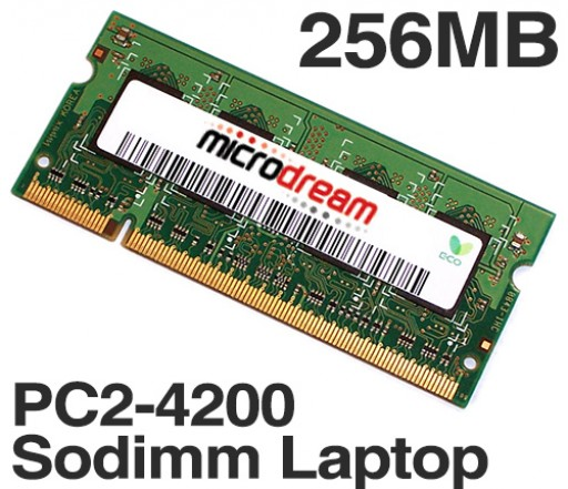 256MB PC2-4200 533MHz 200Pin DDR2 Sodimm Laptop Memory RAM