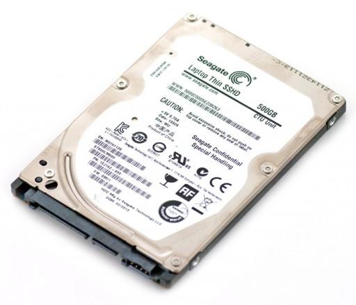 "Seagate SSHD 500GB 2.5"" SATA Internal Laptop Solid State Hybrid Hard Drive ST500LM000"