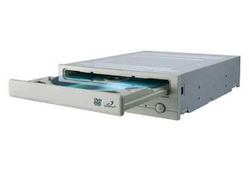 White DVD-Rom IDE Disk Drive for Desktop PC Computer