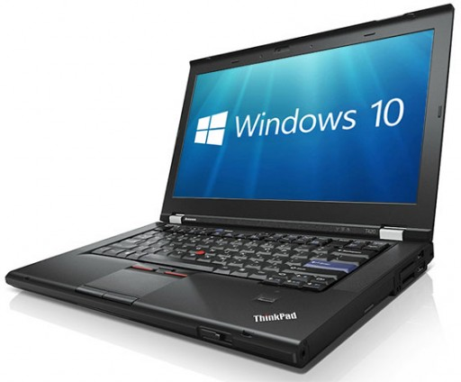 Lenovo ThinkPad T420 i7-2620M 2.7GHz 8GB 320GB WebCam Windows 10 Professional 64-bit