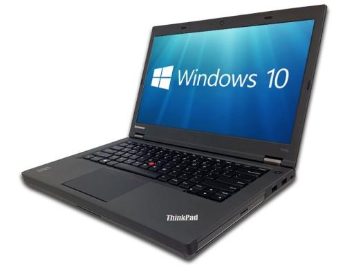 "Lenovo ThinkPad T440p 14.1"" i5-4300M 8GB 256GB SSD DVDRW WebCam USB 3.0 WiFi Bluetooth Windows 10 Professional 64-bit Laptop PC Computer"