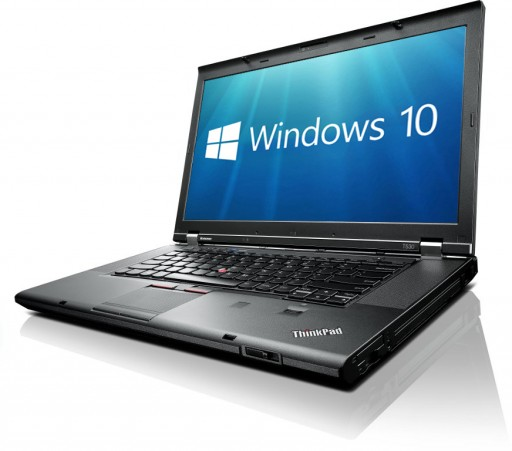 "Lenovo ThinkPad T530 15.6"" Core i5-3320M 4GB 320GB DVDRW WiFi Windows 10 Professional 64bit"