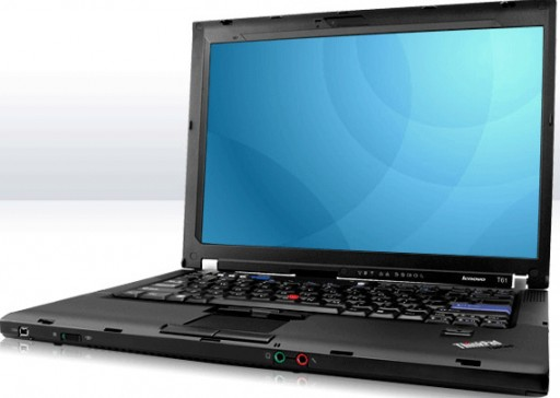 Lenovo ThinkPad T61 Core 2 Duo nVidia Quadro NVS 140M Windows 7 Laptop