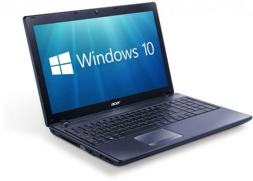 "Acer TravelMate 5744 15.6"" Core i3 4GB 320GB DVDRW WebCam WiFi Windows 10 Professional 64-bit"