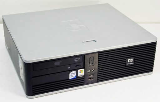 HP Compaq dc5700 SFF Dual Core 2.8GHz 1GB XP Pro Desktop PC Computer