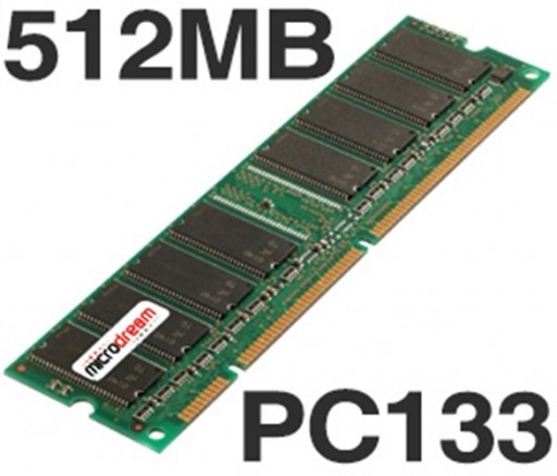 512MB PC133 133MHz SDRAM DIMM 168Pin NON-ECC Desktop PC Memory RAM