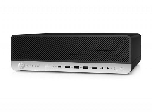 HP ProDesk 600 G3 SFF Desktop PC - 7th Gen Intel Quad Core i5-7500 3.4GHz 8GB DDR4 256GB SSD DVDRW USB 3.1 WiFi Windows 10 Professional