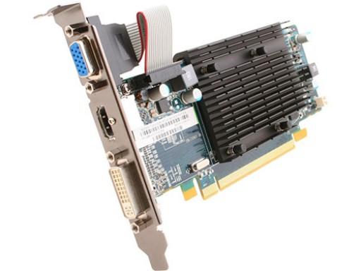 Sapphire AMD Radeon HD 6450 1GB DVI VGA HDMI PCI-E Graphics Card