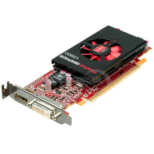 AMD FirePro V3900 3D 1GB DisplaPort DVI PCI-Express Low Profile Graphics Card