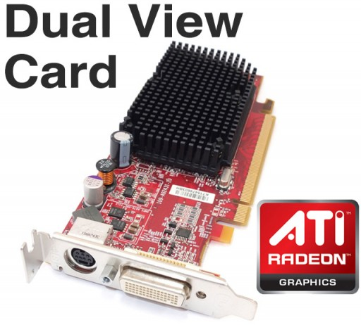 Dell ATi Radeon X1300 Pro 256MB PCI-E DMS-59 Dual View Graphics Card KT154