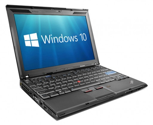 Lenovo ThinkPad X201 Windows 10