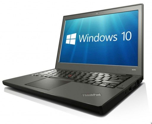 "Lenovo ThinkPad X240 12.5"" 4th Gen Intel Core i7-4600U 4GB 500GB WebCam Windows 10 Professional 64-bit"