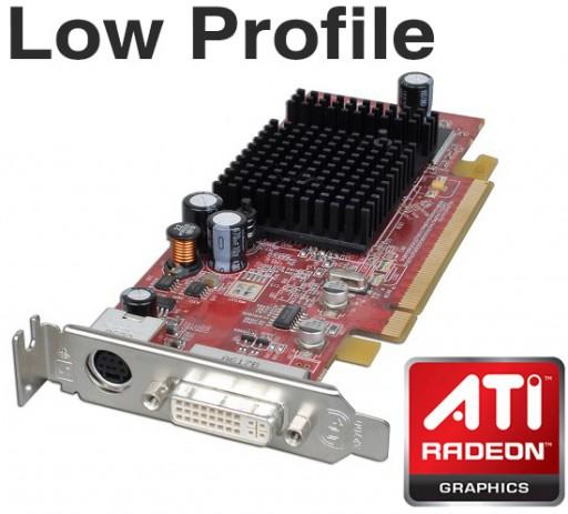 ATI Radeon X300 SE 64MB DVI PCI-Express Low Profile Graphics Card PD772 0PD772