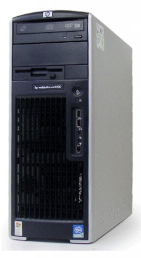 HP XW6400 Workstation Dual Xeon 5140 2.33GHz 4GB 160GB Windows 7 Professional 64bit