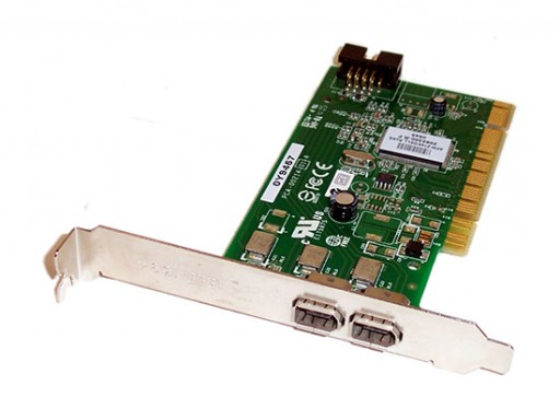 Dell Y9457 2 Port FireWire PCI Adapter Card