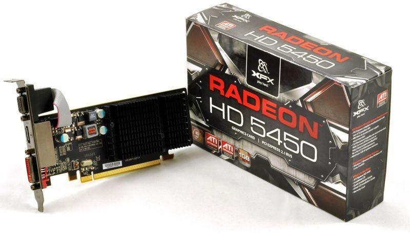 Radeon HD 5450 драйвер