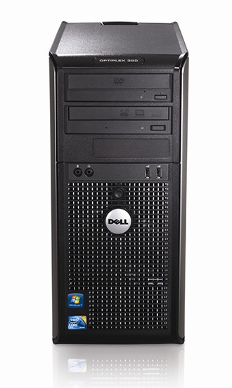 Dell OptiPlex 380 MT Dual-Core E5300 2 6GHz 2GB 160GB Windows 7  Professional Desktop PC Computer