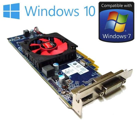 AMD ATI Radeon HD 6450 1GB High Profile PCIE DVI D-Port Video Card