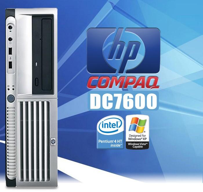 Hp Compaq Dc7600 P4 Ht 3 2ghz 2gb 80gb Dvd Desktop Pc Computer