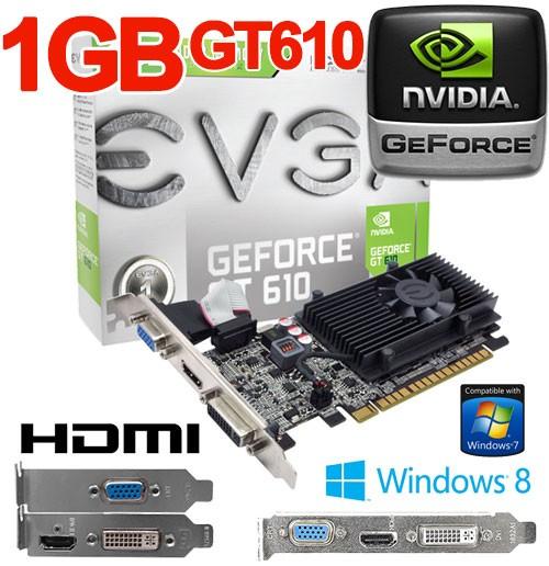 nvidia geforce gt 610 drivers windows 7 64 bit