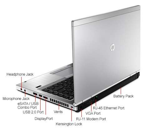 HP EliteBook 8470p 14 1