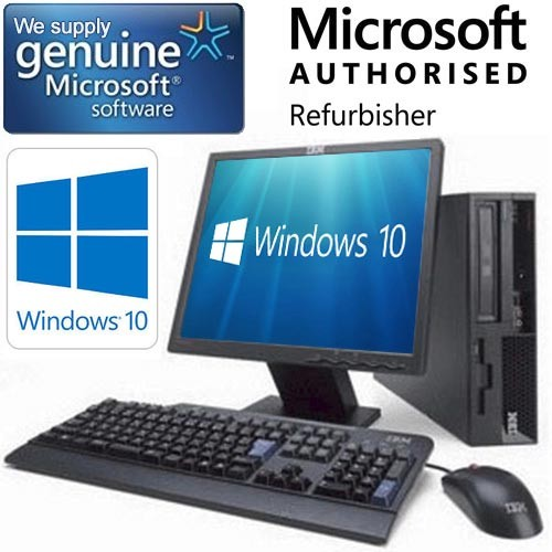 complete set of cheap windows 10 dual core desktop pc. Black Bedroom Furniture Sets. Home Design Ideas