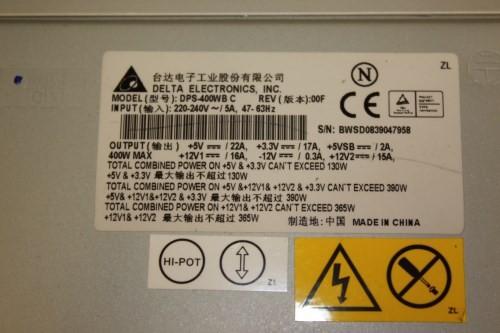 Delta Electronics Dps 400wb C Atx 400w Psu Power Supply