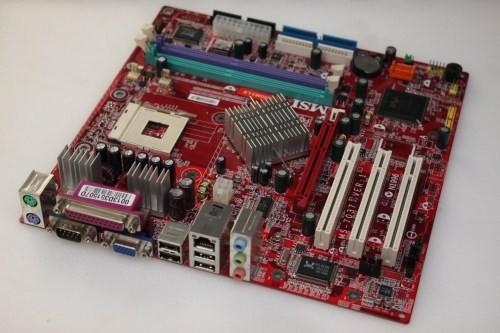 MSI MS-7037 865GM3-LS Socket 478 AGP mATX Motherboard