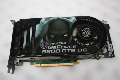 BFG Tech BFGR88320GTSOCE GeForce 8800 GTS 320MB 320 Bit GDDR3 PCI Express X16 HDCP Ready