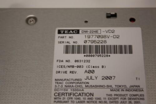 TEAC DW-224E-A USB Device - free driver download