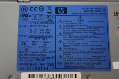 HP 405479-001 405872-001 405479-002 PS-5301-08HC 300W ATX PSU Power Supply