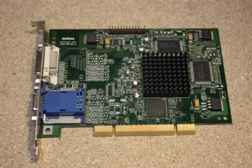 MATROX MILLENIUM G450 DUAL HEAD DVI PCI TREIBER
