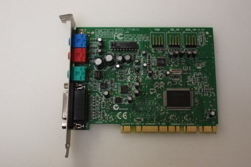 Driver tarj.sonido sound blaster ct4810 - CCM